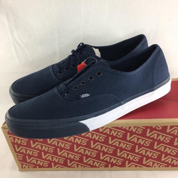 9b47317cf7 Vans Authentic mono bumper shoes men 13 blue skate